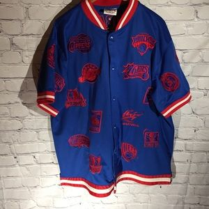 East/west Conference NBA  Jersey and shorts xxl